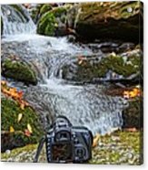 Canon 7d Acrylic Print by Dan Sproul