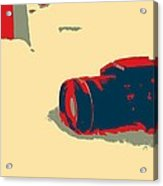 Canon Artwork Acrylic Print