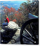 Canon On Lookout Mountain Acrylic Print