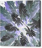 Daytime Jungle Sky By Jammer Acrylic Print