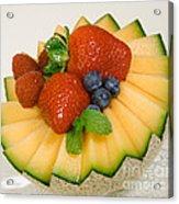 Cantaloupe Breakfast Acrylic Print