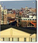 Canton Skyline  Acrylic Print