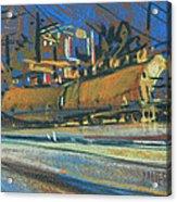 Canton Tracks Acrylic Print by Donald Maier
