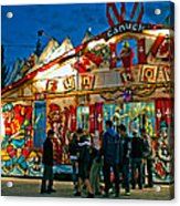 Canuck Fun House Acrylic Print