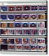 Canvas Contact Strip Acrylic Print