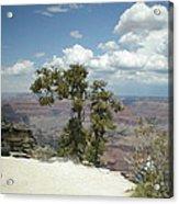 Canyon And Sky Acrylic Print