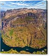 Canyon Bend Acrylic Print