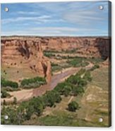 Canyon De Chelly Overview Acrylic Print