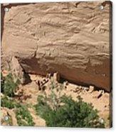 Canyon De Chelly Ruins Acrylic Print