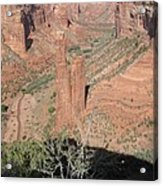 Canyon De Chelly Spider Rock Acrylic Print
