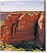 Canyon De Chelly - View From Sliding House Overlook Acrylic Print by Christine Till