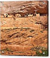 Canyon Dechelly Pueblo Ruins Acrylic Print