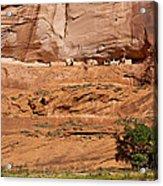 Canyon Dechelly Whitehouse Ruins Acrylic Print