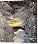 Canyon Eye Acrylic Print