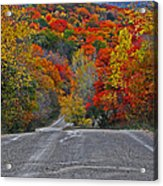 Canyon Hill Acrylic Print