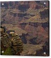 Canyon Jenga Acrylic Print