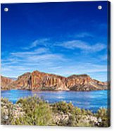 Canyon Lake Panorama Acrylic Print
