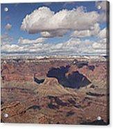 Canyon Of Canyons Acrylic Print by Tony Santo