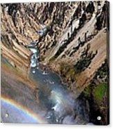 Canyon Rainbow Acrylic Print