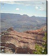 Canyon Rock Acrylic Print