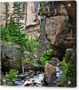 Canyon Serenity - Crazy Woman Creek - Crazy Woman Canyon - Johnson County - Wyoming Acrylic Print