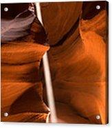 Canyon Sunbeam 2 Acrylic Print by Domenik Studer