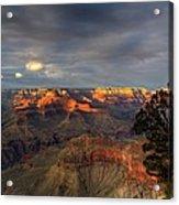 Canyon Sunset Acrylic Print