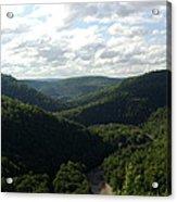 Canyon Vista Acrylic Print