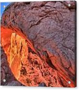 Canyonlands Orange Band Acrylic Print