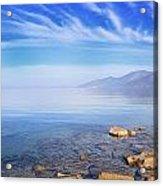 Cap Corse Under An Azure Sky Acrylic Print