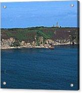 Cap Frehel Peninsula In Cotes-darmor Acrylic Print