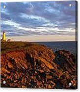 Cape Anguille Lighthouse Acrylic Print