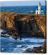 Cape Arago Lighthouse Acrylic Print