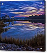 Cape Charles Sunrise Acrylic Print