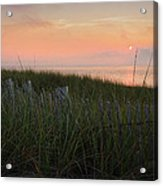 Cape Cod Bay Sunset Acrylic Print