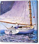 Cape Cod Catboat Acrylic Print