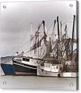 Cape Cod Fishing Boats Acrylic Print