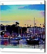 Cape Cod Harbor Acrylic Print