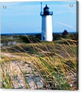 Cape Cod Lighthouse In Prowincetown  At  Summer Time Acrylic Print