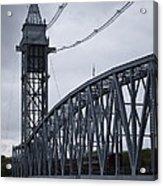 Cape Cod Railroad Bridge No. 2 Acrylic Print by David Gordon