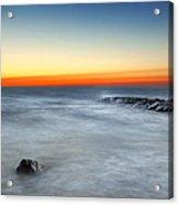 Cape Cod Sunrise Acrylic Print by Bill Wakeley