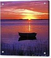Cape Cod Sunrise Acrylic Print by John Greim