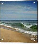 Cape Cod Waves Acrylic Print