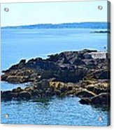 Cape Elizabeth Coast Acrylic Print