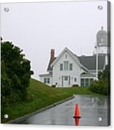 Cape Elizabeth On A Rainy Day- Maine Acrylic Print