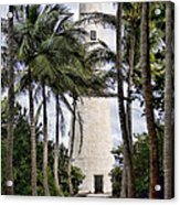 Cape Florida Historic Lighthouse Acrylic Print