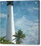 Cape Florida Lighthouse 2 Acrylic Print