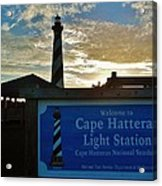 Cape Hatteras Lighthouse 2 11/05 Acrylic Print