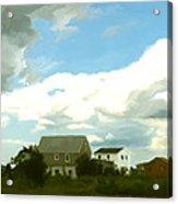 Cape House Acrylic Print