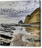 Cape Kiwanda And Haystack Rock Acrylic Print